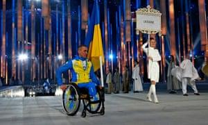 Ukrainian Paralympian