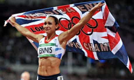 Jessica Ennis-Hill is at No3