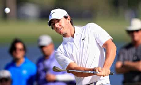 Rory McIlroy on the ninth hole at the WGC-Cadillac Championship in Doral, Florida.