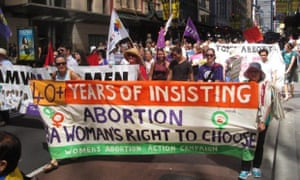 International Women's Day march in Sydney