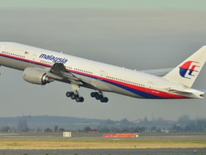 The Malaysia Airlines Boeing 777-200ER that has disappeared, seen taking off from Roissy-Charles de Gaulle airport in France in December 2011.