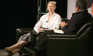 Tilda Swinton at SXSW 2014