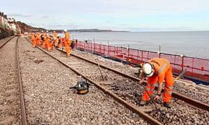 repair dawlish train line