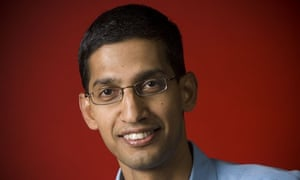 Google's Sundar Pichai is in charge of Android, Chrome and apps