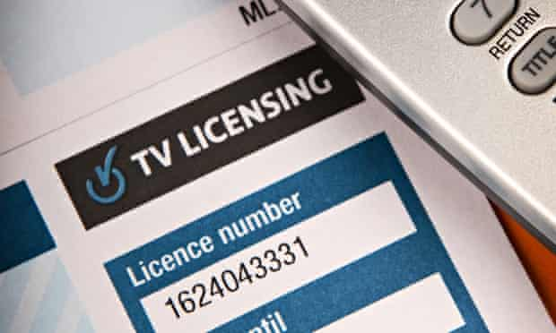 The BBC licence fee is currently frozen at £145.50.