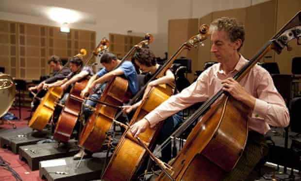 Adelaide Symphony Orchestra rehearse Tectonics