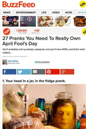 April Fools' Day jokes 2014 – the best on the web | Media