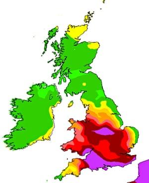 Defra air quality forecast for 2 April 2014