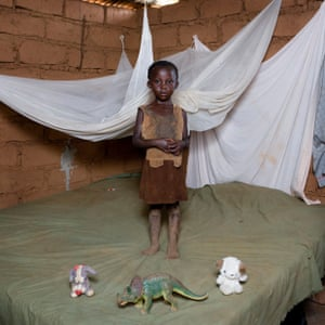 Chiwa Mwafulirwa, 4 - Mchinji, Malawi  Chiwa live in a small hut with her mother, father and sister.  They don't have electricity and running water. Chiwa used to help her mother to carry water at home from the river. In the village there are other 50 children (more or less) and they always plays all together outside. Chiwa has just 3 toys  that some volonteers of an NGO gave to her when she was born. Her favourite is the dinosaurus because she says that he can protect her from the dangerous animals.