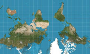 Why google maps gets africa wrong world news the guardian upside down world gumiabroncs Image collections