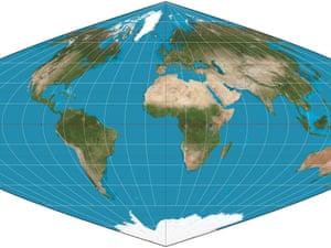 Pseudocylindrichal globe