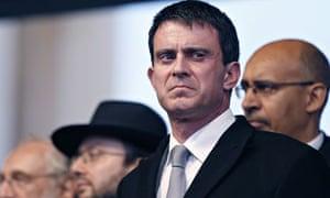 French prime minister Manuel Valls
