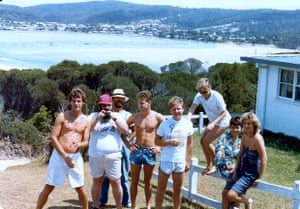 On holiday in New South Wales in 1982