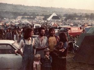 Glastonbury in the early eighties