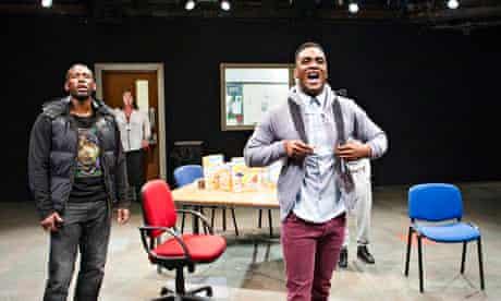 Gershwyn Eustace and Kadiff Kirwan in Nadia Fall's play Home