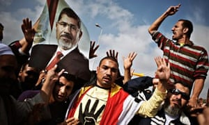Egyptian supporters of the Muslim Brotherhood