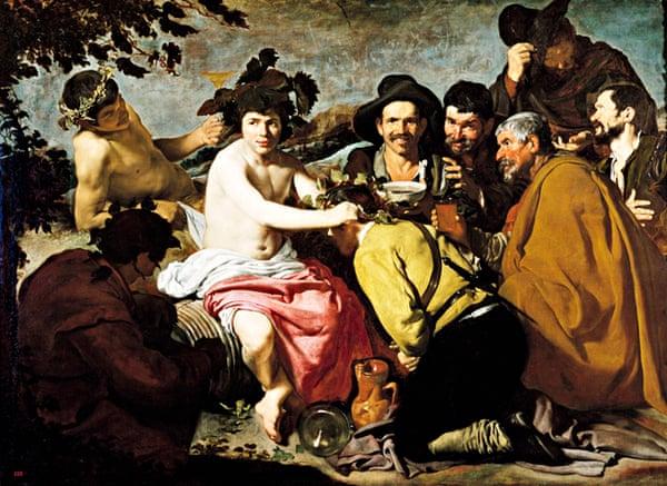 Triumph of Bacchus by Diego Velazquez
