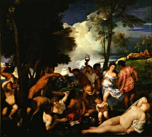 Titian's Bacchanal of the Andrians