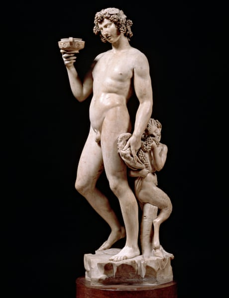 Bacchus by Michelangelo
