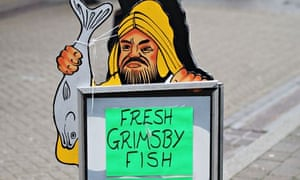 Grimsby fish sign