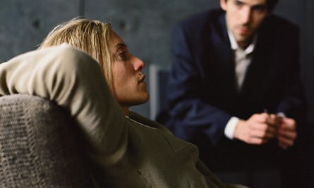 Woman undergoing  therapy.