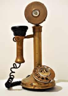 A phone used in Fawlty Towers