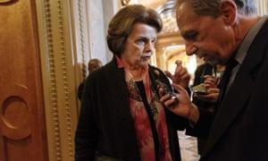 Senate intelligence committee chair Dianne Feinstein