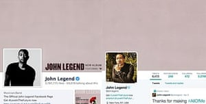 John Legend has already started using the new Twitter format - but which one is it?