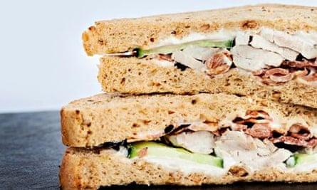 supermarket sandwich taste test chicken bacon food the guardian supermarket sandwich taste test