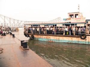 A ferry in Kolkata.