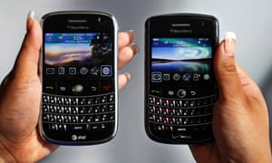 Endangered species? BlackBerry might exit the handset business if it can't make them profitably, chief executive says.
