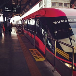 Ogdenville, North Haverbrook, and now Mumbai... 'The MonoRail launched in Mumbai this January.'