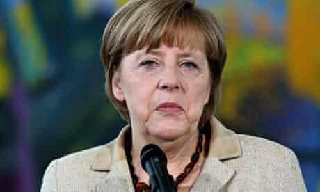 Angela Merkel, the German chancellor