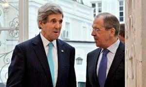 John Kerry, Sergey Lavrov