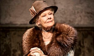 Judi Dench in Peter and Alice.