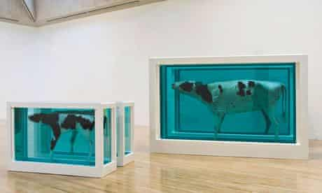 Mother and Child Divided Damien Hirst