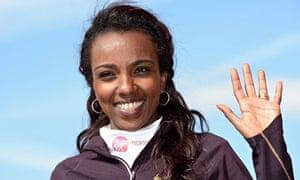 The Ethiopian Tirunesh Dibaba has been made fourth favourite to win the women's London Marathon