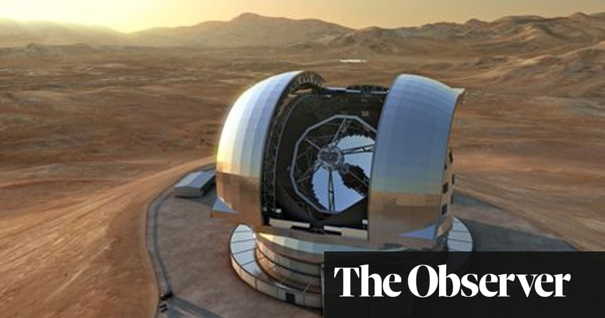 The telescope big enough to spot signs of alien life on other planets