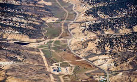 Fracking in a Colorado valley