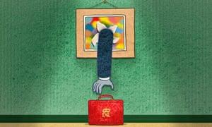 Ministry of Culture illustration by Satoshi Kambayashi