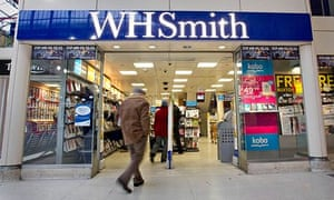 WH Smith shop front