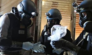 Chemical weapons experts
