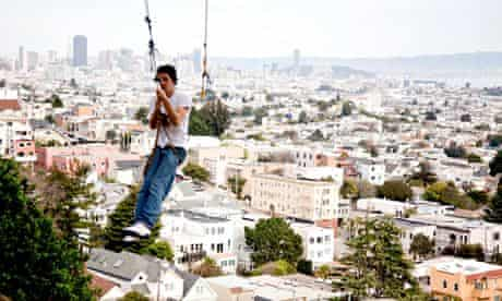 Billy Goat Hill Rope Swing, SF