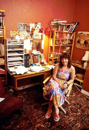 Sue Townsend: Sue Townsend at her home in Leicester, 1985