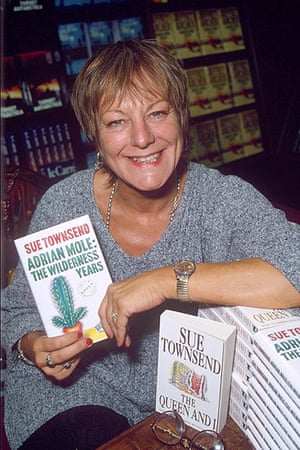 Sue Townsend: Sue Townsend book signing for Adrian Mole the Wilderness Years, 1993