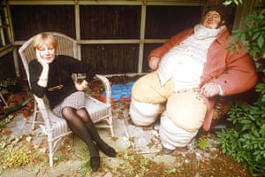 Sue Townsend: Sue Townsend at home in Leicester, 1992