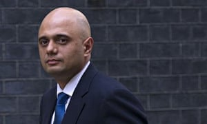 Sajid Javid arrives at Downing Street after being appointed culture secretary