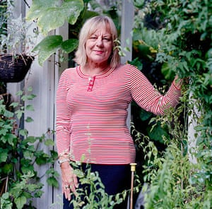 Sue Townsend: Sue Townsend at home in Leicester, 2007
