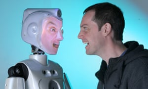 Robo-mimic … The SociBot can imitate your expressions and emotions.