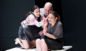 'Outstanding': Mark Strong as Carbone with Phoebe Fox (left) and Nicola Walker.